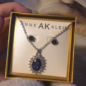 Anne Klein necklace and earring set